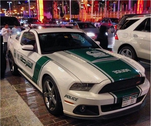 Here're 8 Exotic Dubai Police Force's Fleet Of Supercars