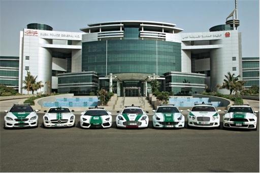 Exotic Dubai Police Force's Fleet of Supercars - Supercar Fleet - 2