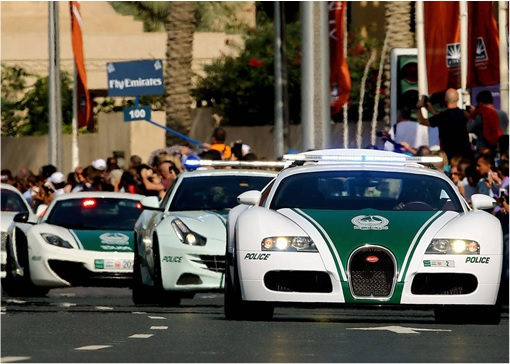 Here Are Eight Exotic Dubai Police Forces Fleet Of