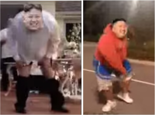 Funny Hilarious Video - Kim Jong-un Dancing Pants Drop