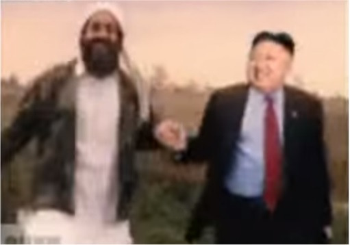 Funny Hilarious Video - Kim Jong-un Dancing with Osama bin Laden