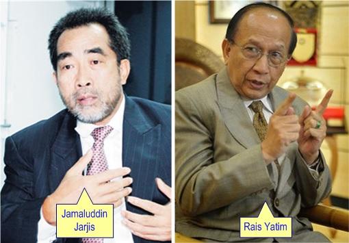Jamaluddin Jarjis and Rais Yatim