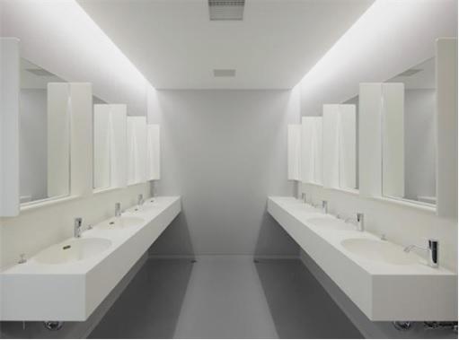 Japan Nine Hours Capsule Hotels - Inside Shower Rooms 2