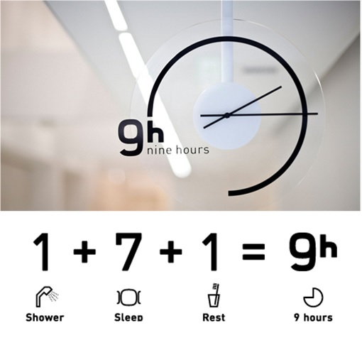 Japan Nine Hours Capsule Hotels - The Meaning of Nine Hours