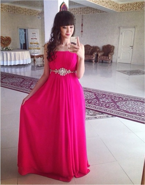 Kazakhstan Sabina Altynbekova - Volleyball Player Babe - in red dress for sister wedding