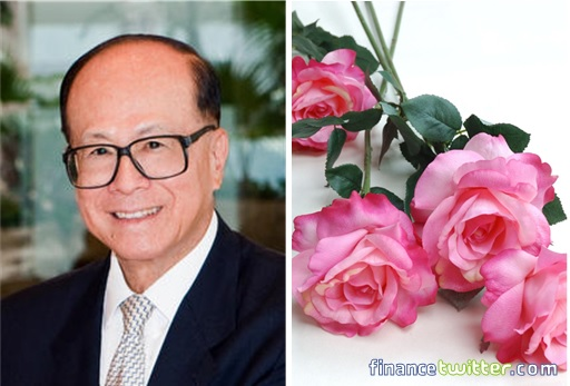 Li Ka-Shing Made Plastic Flowers