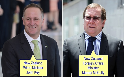 Malaysian Diplomat Rape Case in New Zealand - John Key and Murray McCully