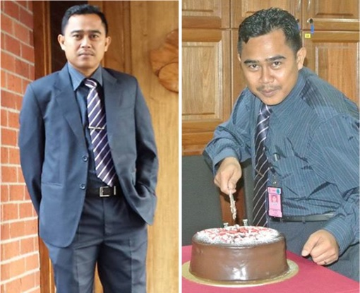 Malaysian Diplomat Rape Case in New Zealand - Muhammad Rizalman bin Ismail Cutting Cake - Photo