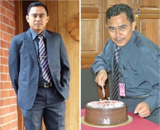 Malaysian Diplomat Rape Case in New Zealand - Muhammad Rizalman bin Ismail Cutting Cake - Photo