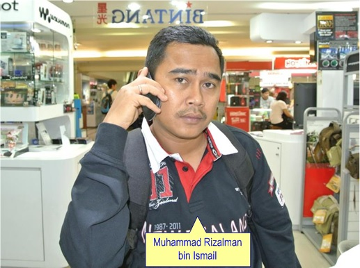 Malaysian Diplomat Rape Case in New Zealand - Muhammad Rizalman bin Ismail - Photo