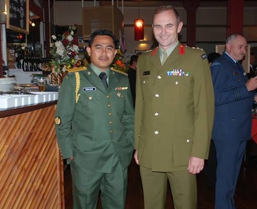 Malaysian Diplomat Rape Case in New Zealand - Muhammad Rizalman bin Ismail in Military Uniform - Photo