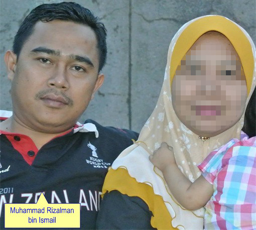 Malaysian Diplomat Rape Case in New Zealand - Muhammad Rizalman bin Ismail with Wife - Photo