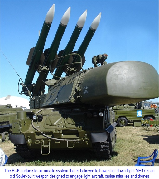 Flight MH17 Shot Down - Malaysian Leaderships Put To Test, Again (Photo)