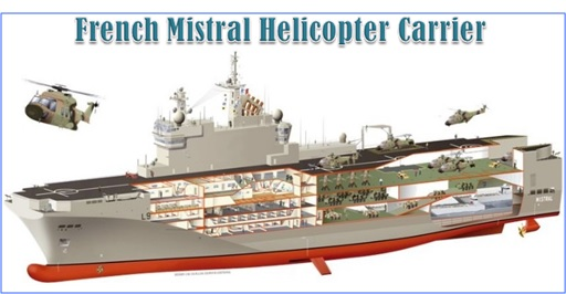 Malaysian Flight MH17 Shot Down - French Mistral Helicopters Carrier