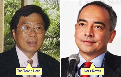 Mega Merger - Southern Bank Tan Teong Hean and CIMB Nazir Razak