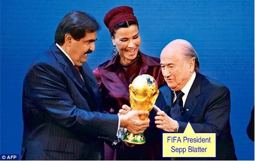 Qatar 2022 World Cup - FIFA President Sepp Blatter Criticized