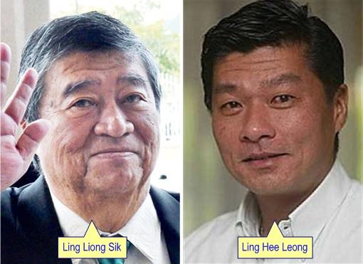 RHB Rekapac - Ling Liong Sik and son Ling Hee Leong