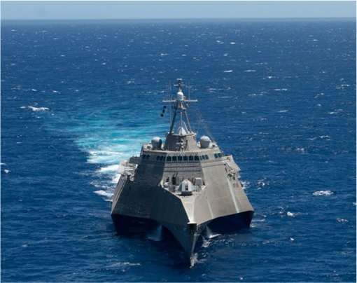 RIMPAC 2014 - The littoral combat ship USS Independence (LCS 2) is underway