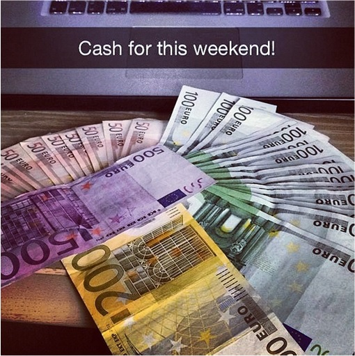 Rich Kids of SnapChat - Cash for Weekend
