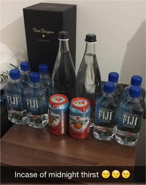 Rich Kids of SnapChat - Fiji Water