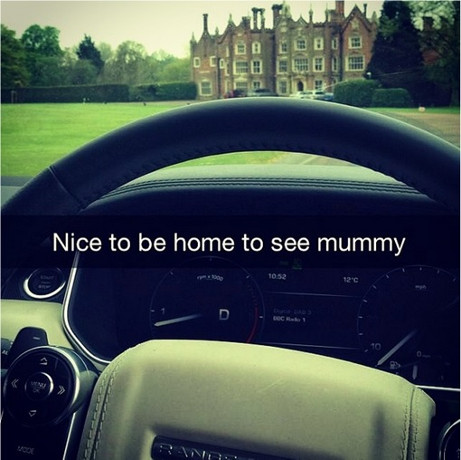 Rich Kids of SnapChat - Home to see Mummy