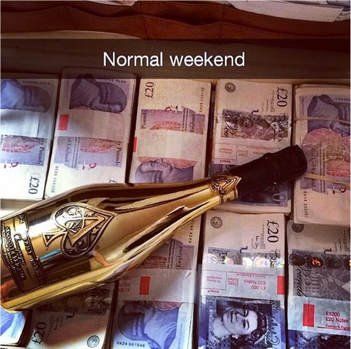 Rich Kids of SnapChat - Normal Weekend with Money