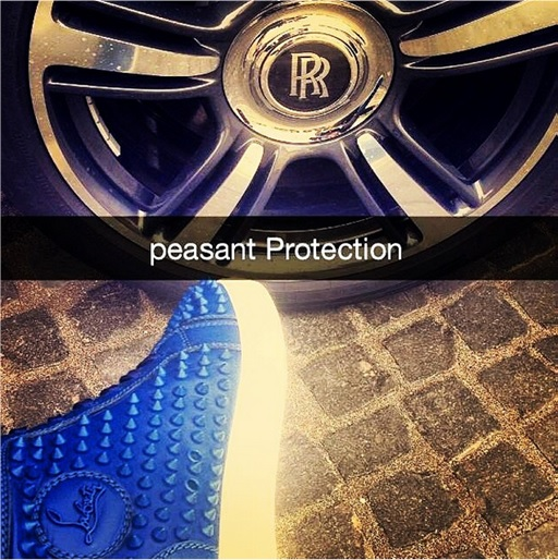 Rich Kids of SnapChat - Peasants Protection Shoe