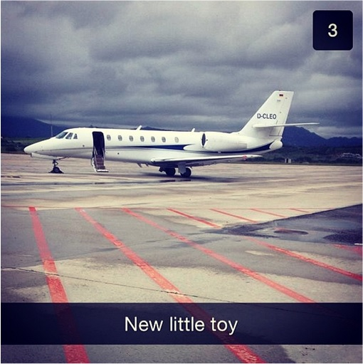 Rich Kids of SnapChat - Private Jet - New Little Toy