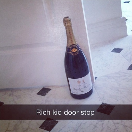 Rich Kids of SnapChat - Rich Kid Door Stopper