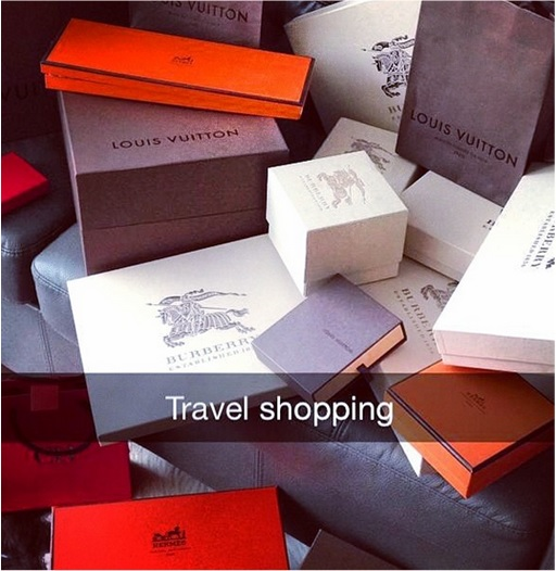 Rich Kids of SnapChat - Travel Shopping LV