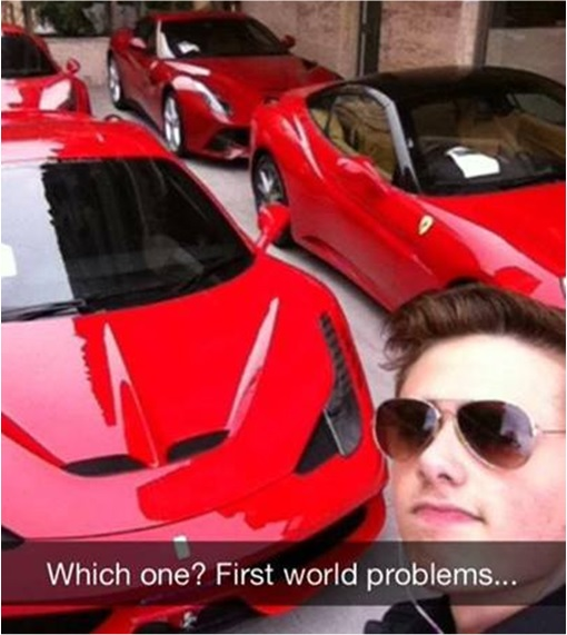 Rich Kids of SnapChat - Which Ferrari to Choose