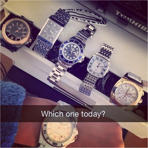Rich Kids of SnapChat - Which Watch to Wear