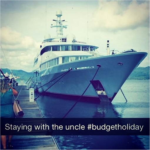 Rich Kids of SnapChat - Yatch - Staying with Uncle