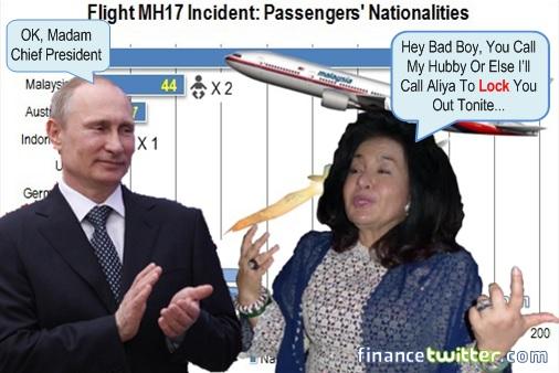Rosmah Mansor Demands Putin To Call Najib