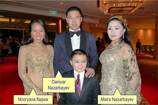 Rosmah Mansor and Najib Razak - Daughter Wedding