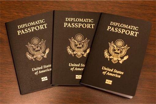 World's Most Powerful Passport - American Diplomatic Passport
