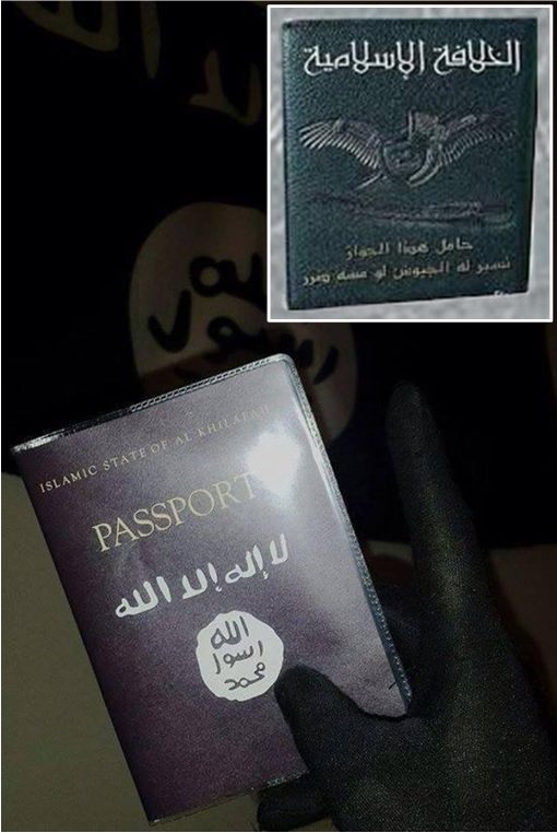 World's Most Powerful Passport - State of the Islamic Caliphate - Passport