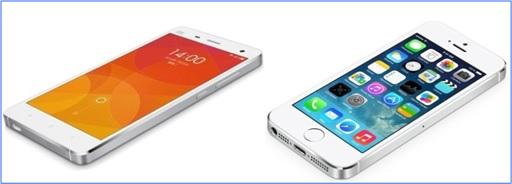 Xiaomi Mi 4 Copy iPhone