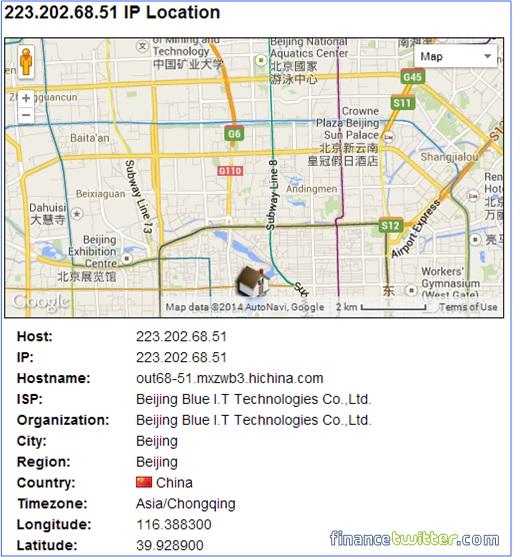 Xiaomi Redmi Note Stealing Data Information - IP 223.202.68.51