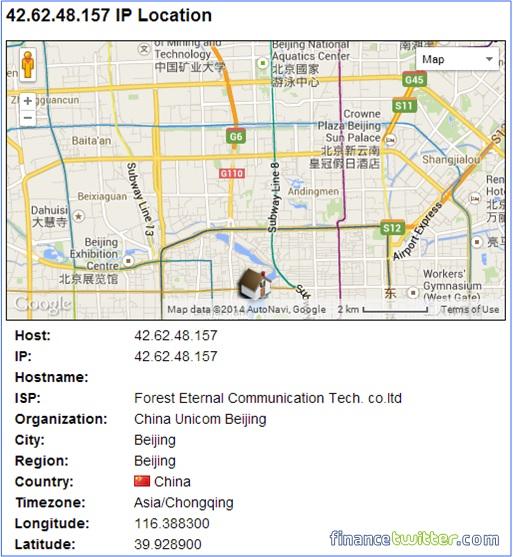 Xiaomi Redmi Note Stealing Data Information - IP 42.62.48.157
