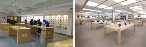 Xiaomi Stores Copy Apple Stores