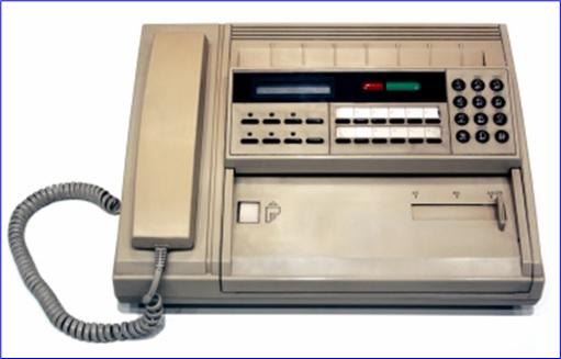 1994 - Fax Machine Was Super Popular