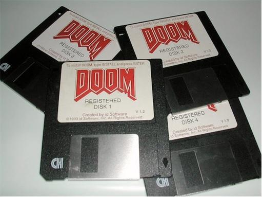 1994 - Floppy Disk Was A Standard Media