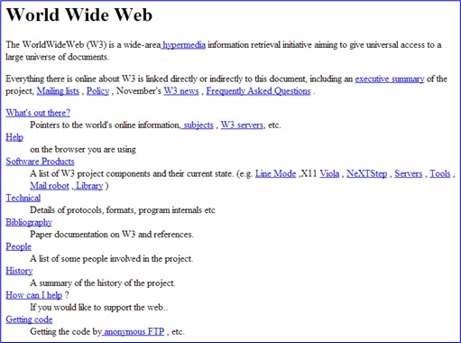 1994 - Tim Berners-Lee Invented World Wide Web