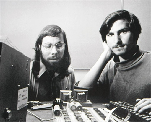 Apple - Steve Jobs and Steve Wozniak