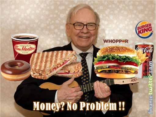 Burger King and Tim Hortons Merger - Warren Buffett Funding