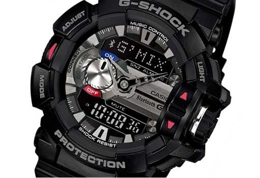 official photos 9478c 077ed Casio Reveals Its G-SHOCK SmartWatch - With Song Recognition ...