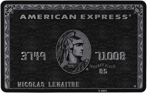 Cracking Credit Card Numbers - American Express Centurion Card