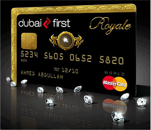 Cracking Credit Card Numbers - Dubai First Royal Master Card