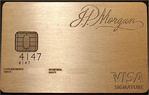 Cracking Credit Card Numbers - JP Morgan Chase Palladium